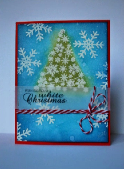 Majestic Embossed Tree Card