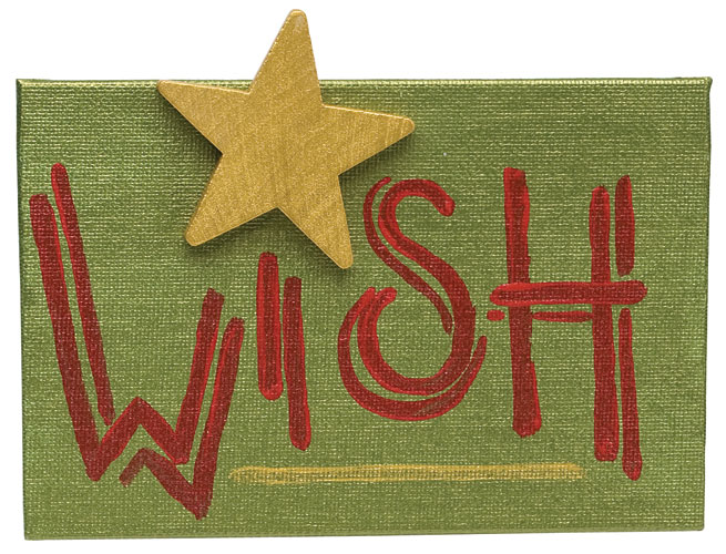 Wishing Star Canvas
