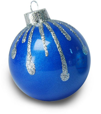 Silver-Kissed Christmas Ornament | FaveCrafts.com