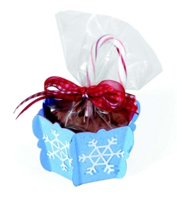 Snowflake Candy Cups