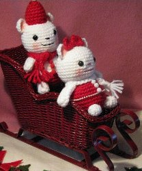 Christmas Mouse Amigurumi