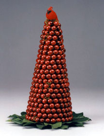 Cranberry Christmas Tree