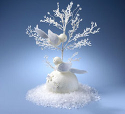 Crystal Dove Centerpiece