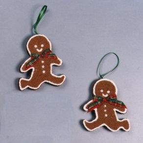Dancing Gingerbread Ornaments