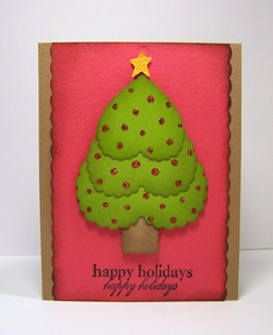 Lovely Tree Card Project