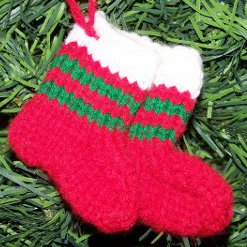 Knit Stocking Ornaments