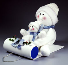 Decorative Sledding Snowbuddies