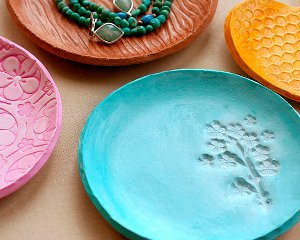 Clay Jewelry Dish