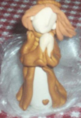 Polymer Clay Angel Doll