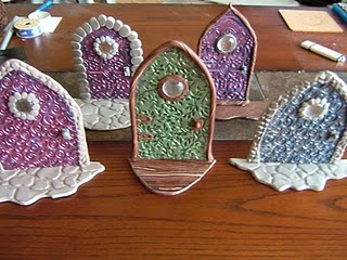 Materials & How to Make Polymer Clay Fairy Doors | FaveCrafts.com