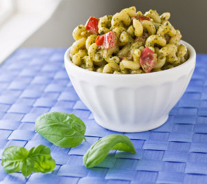 Copycat Noodles and Company Pesto Cavatappi