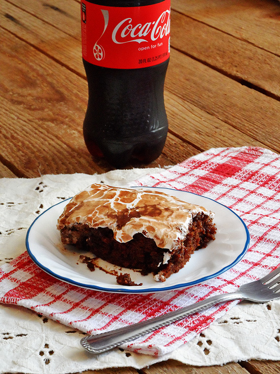 Copycat Cracker Barrel Coke Cake