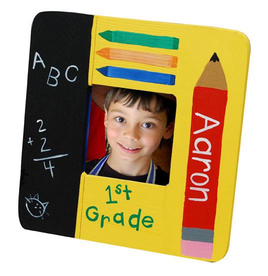 School Picture Frame for Kids