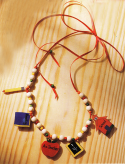 School Bead Necklace