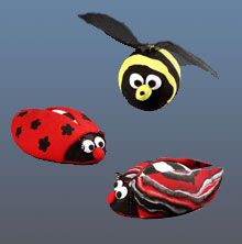Foam Clay Magic Bugs