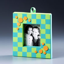 Mod Mosaic Frame for Kids