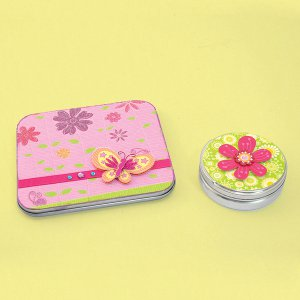 Flower Power Tins