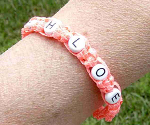 Glow In The Dark Name Bracelet Favecrafts