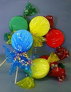 Lollipop Child Room Decorations