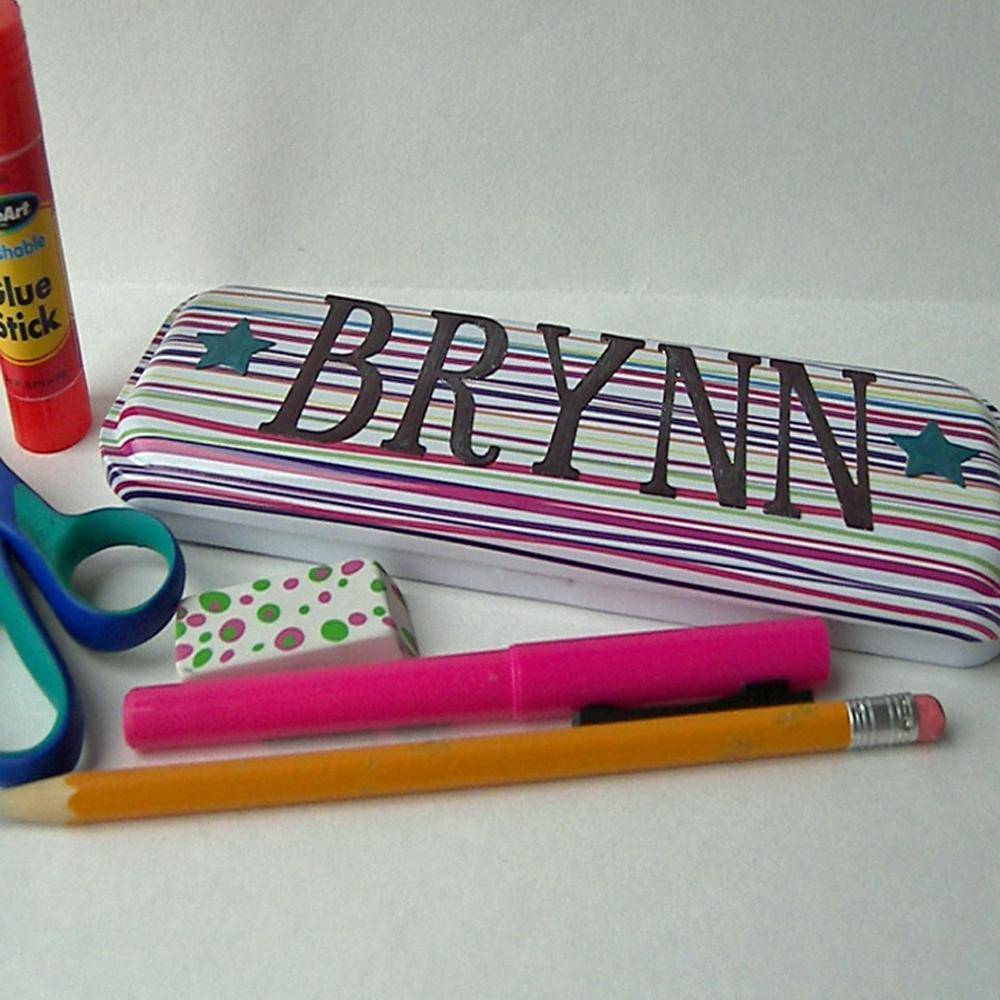 Personalized Pencil Box