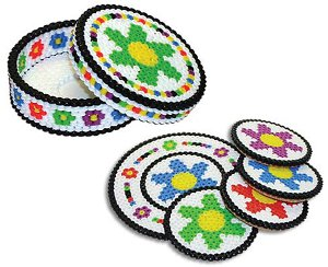 Summer Flower Coaster Set