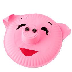 Pig Paper Plate  sc 1 st  FaveCrafts & Pig Paper Plate | FaveCrafts.com