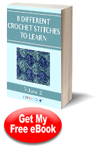 Download 8 Different Crochet Stitches Vol II Free eBook