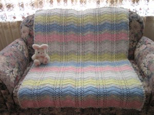 baby kisses afghan