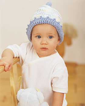 Baby Toque Crochet Hat