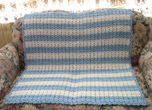 Bluebell Baby Afghan