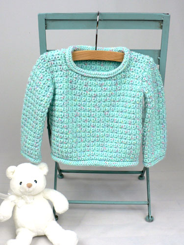 Baby Pullover Sweater Crochet Pattern Favecrafts