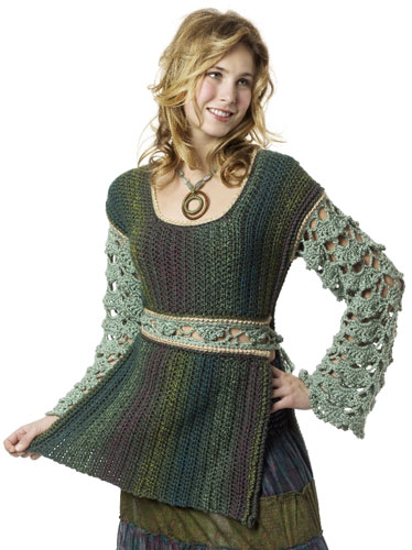 Crochet Baroque Tunic