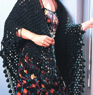 Black Mesh Crochet Pattern
