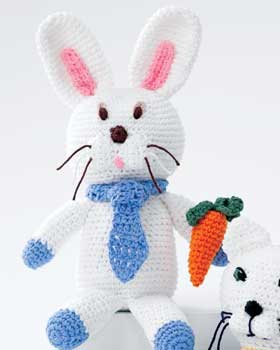 Crochet Bunny Toy