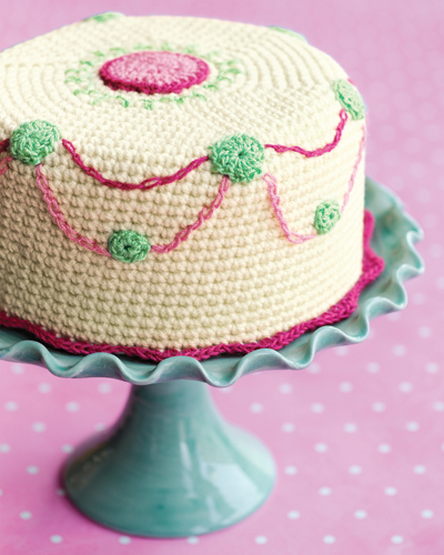 Crochet Cake Confection
