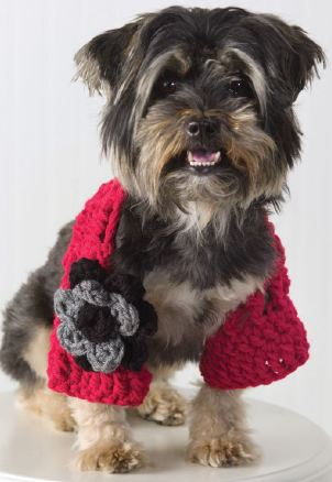 Dog Shrug Crochet Pattern