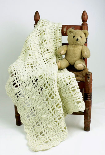 Natural Baby Blanket Crochet Pattern