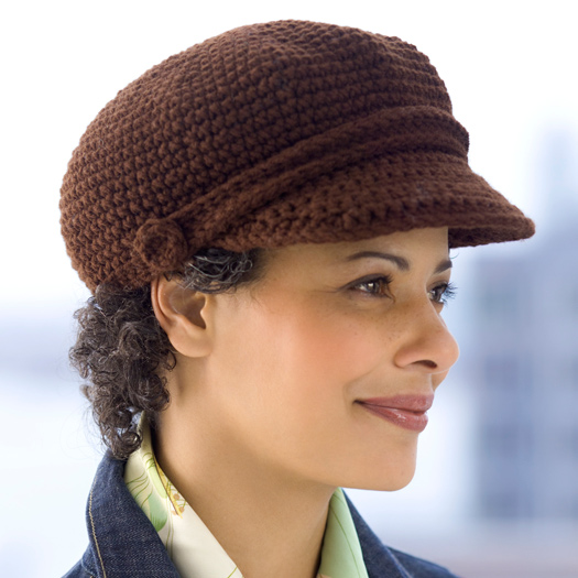 Newsboy Cap Crochet Pattern Favecrafts
