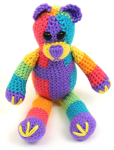 Teddy Bear Crochet Pattern Toys And More | The WHOot | 500x381
