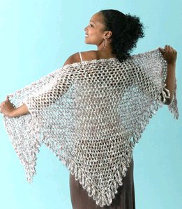 Crochet Shawl for Summer | FaveCrafts com