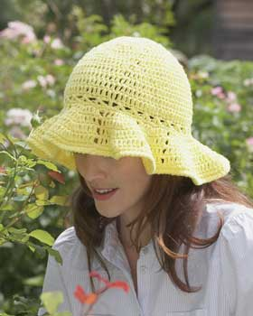 Crocheted Sun Hat Pattern FaveCraftscom