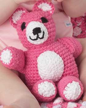 Häkeln Sie Schlaf Enge Teddybär Decke - Free Pattern | free ... | 350x280