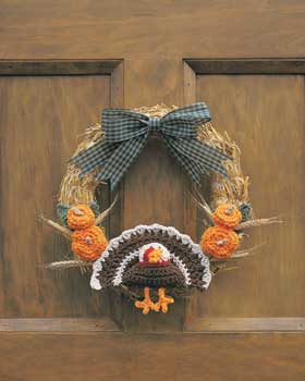 Thanksgiving Turkey Wreath