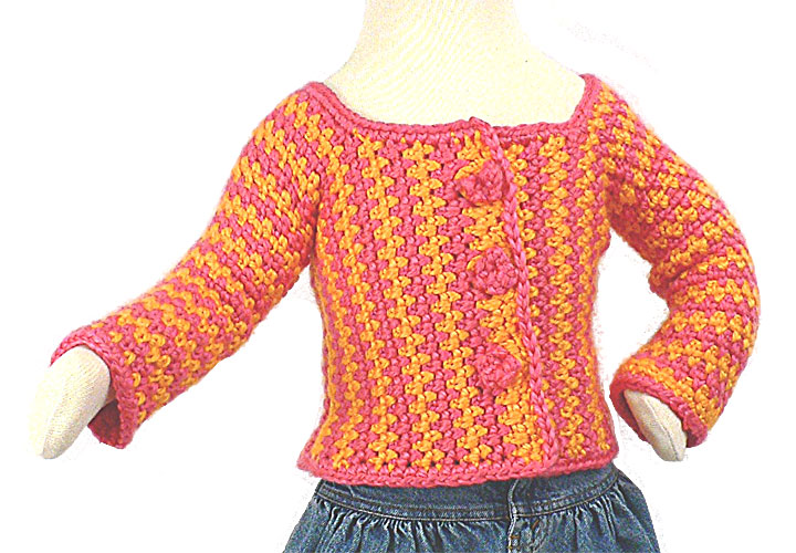Crochet Toddler Cardigan