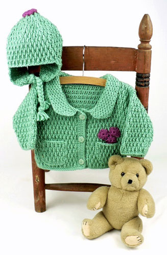 Eco Yarn Baby Set