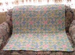 Flower Patch Baby Afghan