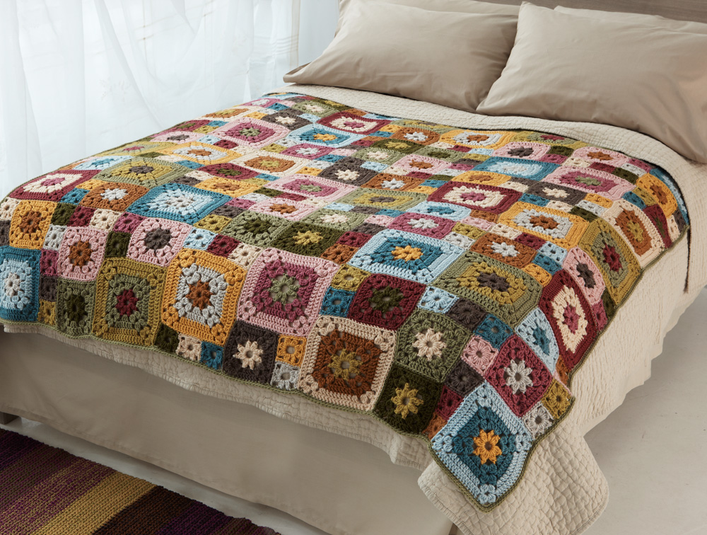 Granny Patch Afghan