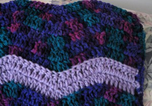 Gemstone Ripple Throw