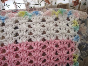 gender neutral baby blanket