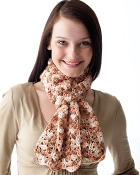 A Light and Lacey Scarf